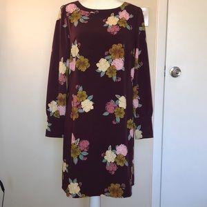 Loft floral print dress! EUC